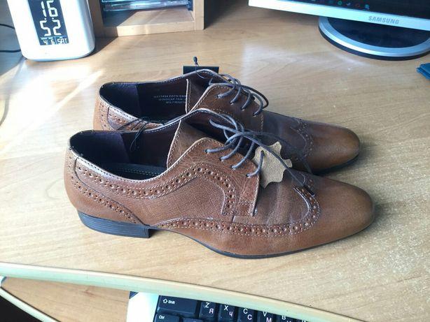 Нові туфлі Taylor& Wright 39 шкіряні