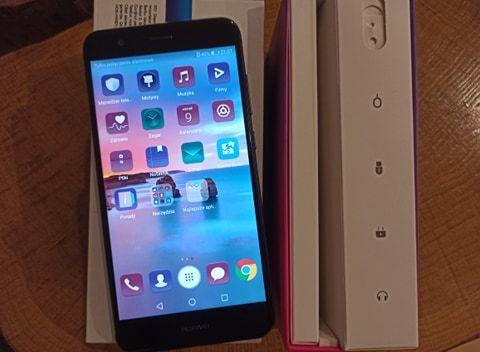 Huawei P10 LITE Single SIM 3GB+32GB, jak nowy, stan bdb, cały komplet