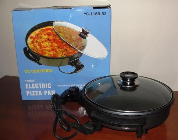Pizza Pan Panela Elétrica - Nova