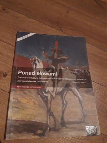 Ponad słowami podręcznik do języka polskiego nowa era klasa 1 część 2