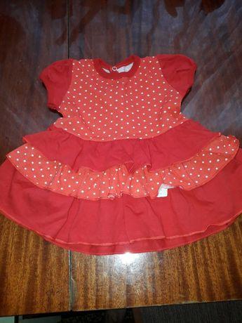 Платье на девочку новое размер 1 годик