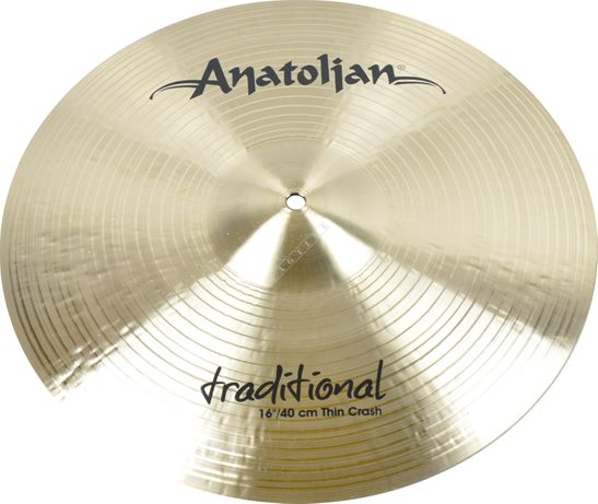 "PROMOCJA !!! Anatolian 16"" Traditional Thin Crash"
