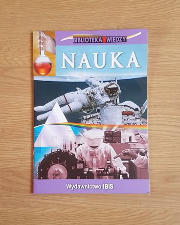 Nauka książka edukacyjna dla dzieci młodzieży