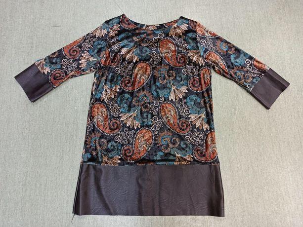 Tunika/sukienka welurowa r. 40/42