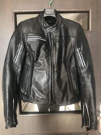 Kurtka motocyklowa skórzana damska DAINESE LEATHER black