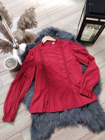 Czerwona bluzka Hampton Republic rozm XL