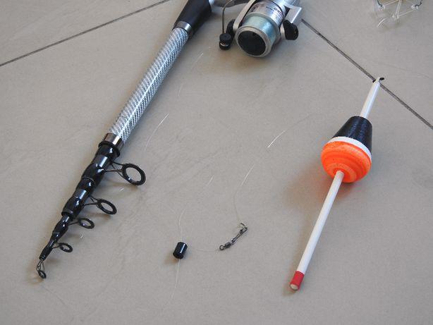 Спиннинг карбоновый 2,7м с катушкой Cobra CB640 в сборе на толстолоба
