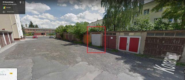 Wynajem garaż murowany Tomickiego / Konarskiego