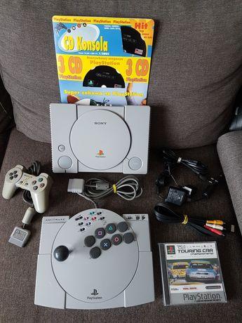 Sony PlayStation 1 psx scph 1002 ZESTAW