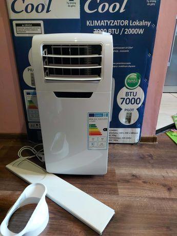 Klimatyzator przenośny COOL 7000 BTU, z pilotem. Stan - doskonały !