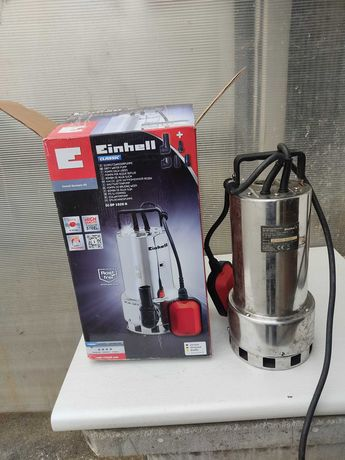 Bomba de águas sujas em inox Einhell GC-DP 1020W Avariada