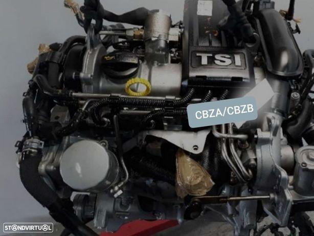 Motor Volkswagen Polo Seat Ibiza 1.2Tsi 105Cv Ref.CBZA CBZB