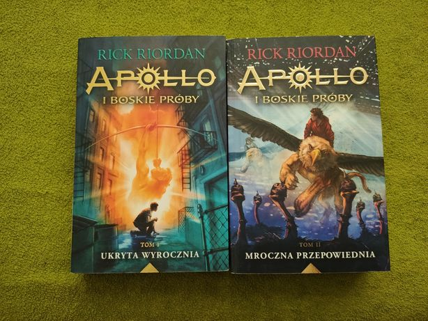 Rick Riordan, Apollo i Boskie Próby, 2 Tomy, Książki Fantasy