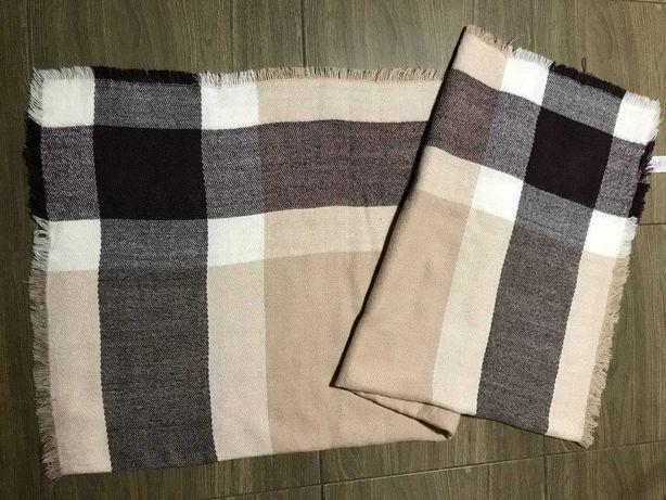 теплий та м'який шарф-хустка