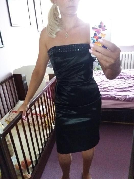 sukienka bez ramiączek rozmiar 38 Nowogard - image 1