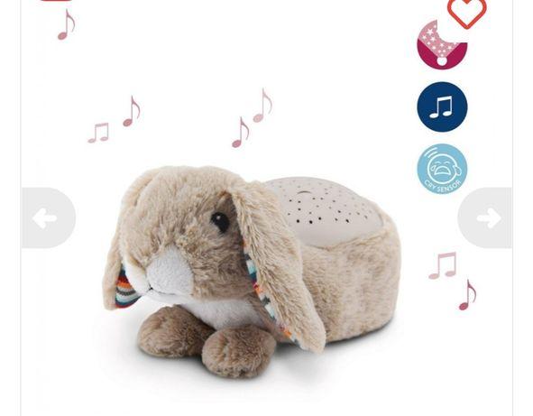 Музыкальный проектор со звёздами Кролик  Zazu