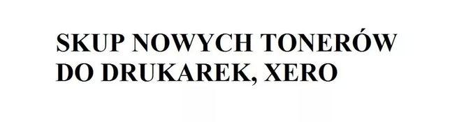 SKUP tonerów do drukarek na terenie całej Polski