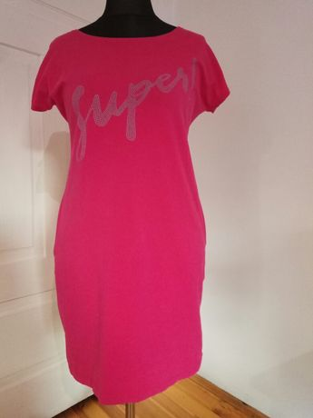 Sukienka tunika rozmiar L