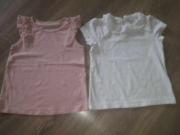 Dwie bluzki dla dziewczynki next 116 5-6