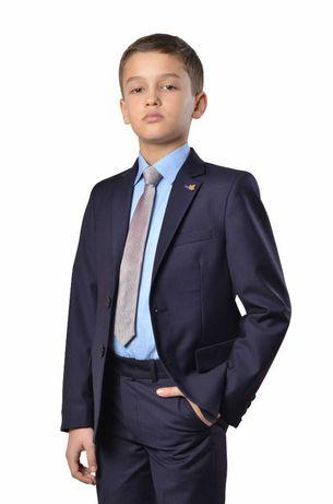 Школьный костюм тройка для мальчика Lilus синий