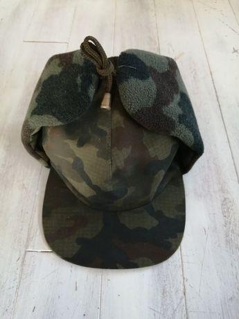 Myśliwska czapka uszatka nowa