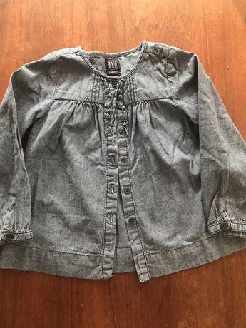 Jeansowa koszula GAP r.104