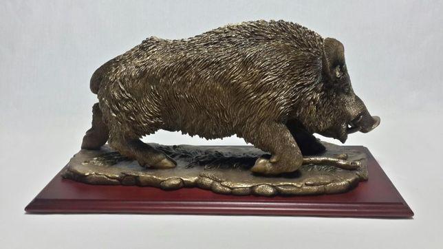 Подарок мужчине коллекционный Скульптура кабан