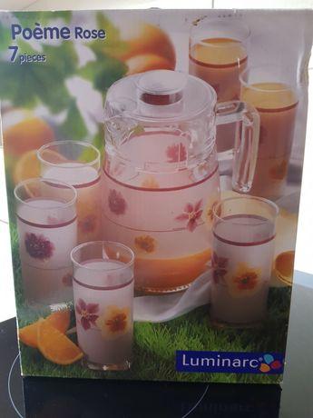Кувшин, стаканы, набор посуды ,чашки, стекло, керамика