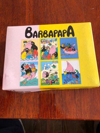 Кубики пазлы деревянные ЭКО игрушка Barbapapa
