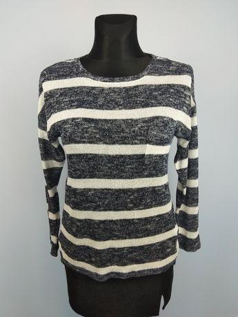 Bluzka sweterek dzianina rękaw 7/8 rozm.36/S