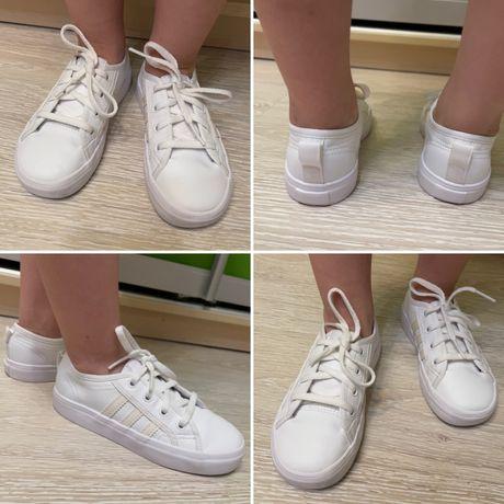 Кроссовки adidas 26,5 nike 26 puma 9 k reebok кеды new balance белые