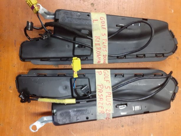 Poduszka powietrzna Airbag Golf V Plus (lewa i prawa)