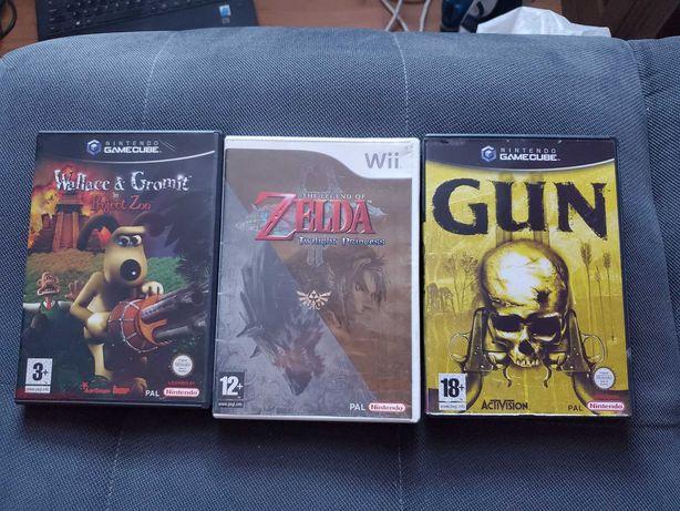 Gry Nintendo GAMECUBE + Gra Nintendo Wii /polecam OKAZJA