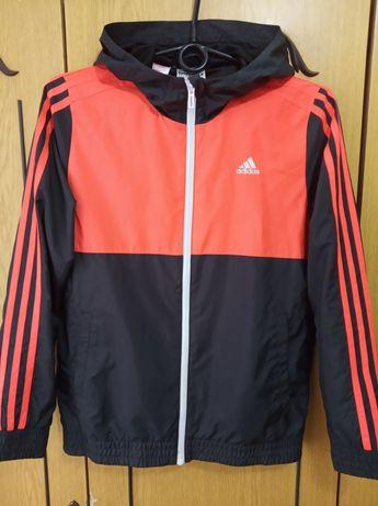 Спортивная кофта ветровка Adidas Адидас на мальчика 11-13 лет, 152 см