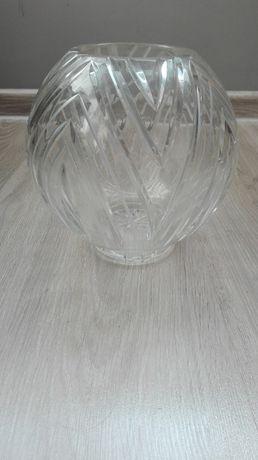 Wazon kryształowy grube szkło