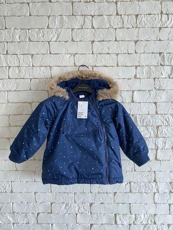 Куртка демисезонная H&M 1.5-2 года, 92 см