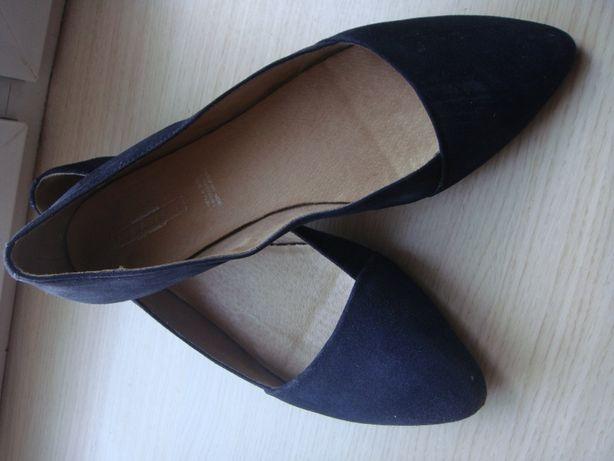 buty damskie czolenka baleriny skora 40