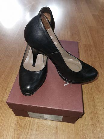 Szpilki, buty skórzane Ryłko r. 36