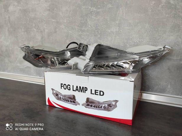 Toyota Camry 55 туманки LED дол фары