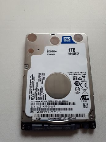 """Майже новий жорсткий диск 2.5"""" 7мм 1000гб 1тб/вінчестер для ноутбука"""
