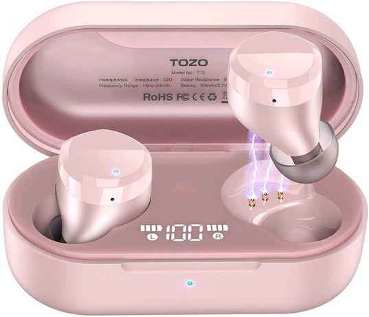 TOZO T12 bezprzewodowe słuchawki Bluetooth