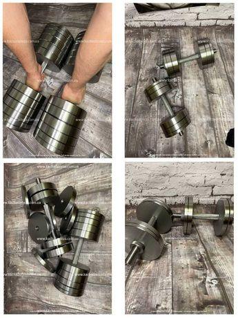 Гантели стальные наборны от 12 до 70 кг ТОП ЦЕНА