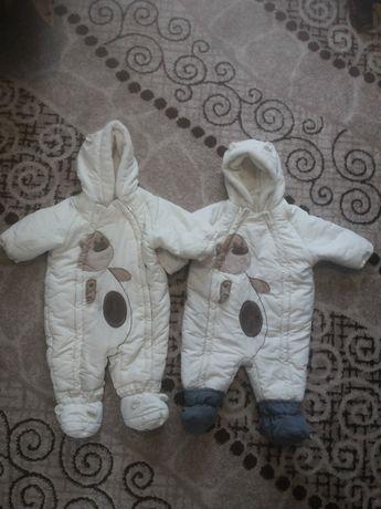 Продам зимові комбінезони для хлопчиків