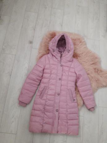 Курточка куртка на девочку подростка 11-13 років   146-152