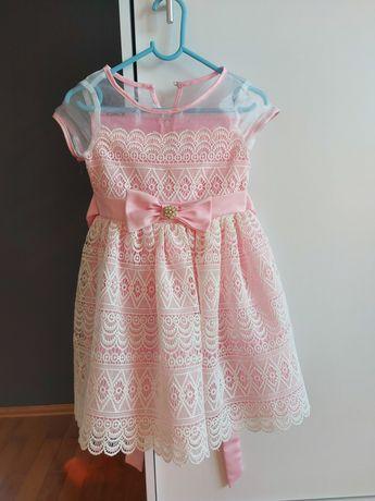 Piękna sukienka 3-4 lata