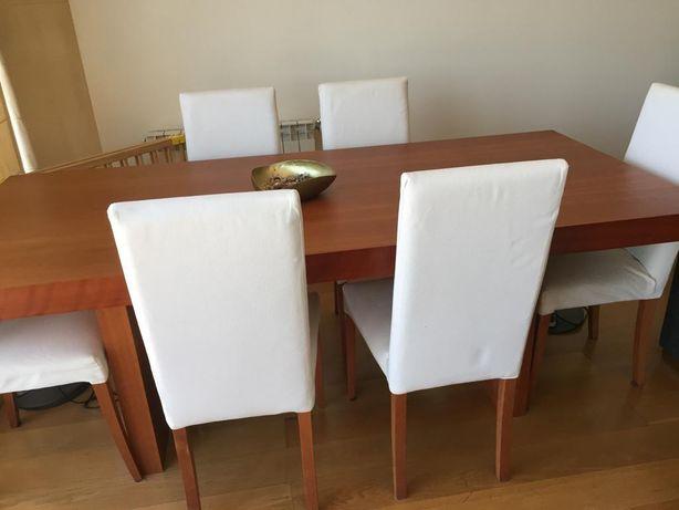 Mesa de jantar cerejeira TemaHome