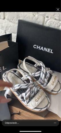 Sandałki Chanel- 25,5 cm dostepny od reki !