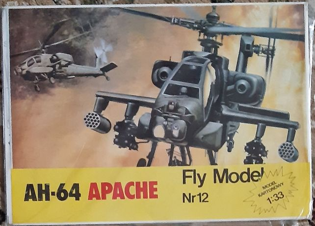 Fly Model #12 - AH-64 Apache