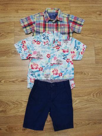 2-3 года комплект шорты бриджи рубашка на мальчика 2-3 года
