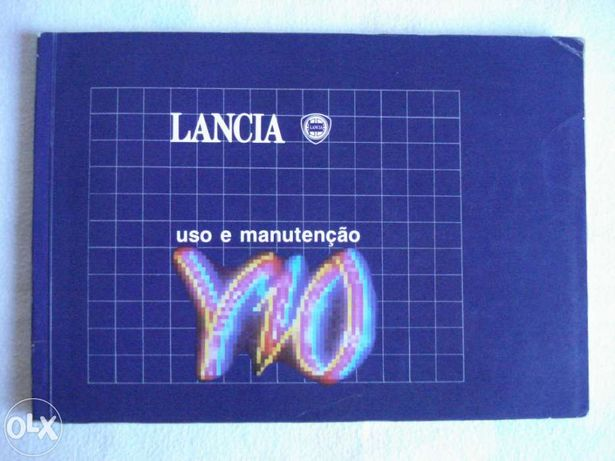 Manual De Condutor - LANCIA Y 10 (1989)